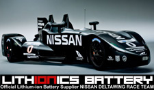 Lithionics Battery is the Official Lithium-ion Battery for the NISSAN DELTAWING RACE TEAM