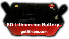 Lithium ion batteries for RV, Solar, Yachts, Sailboats and more...